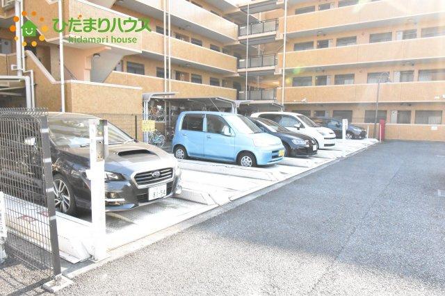【駐輪場】ファミール上尾弐番館