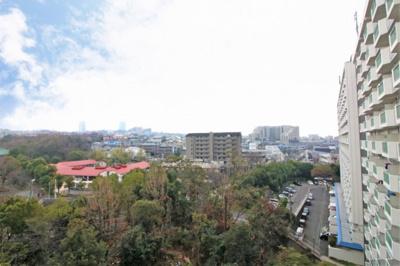【現地写真】9階からの景色は圧巻です♪