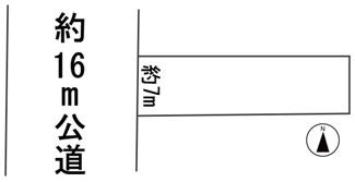 【区画図】56297 瑞穂市生津天王東町土地