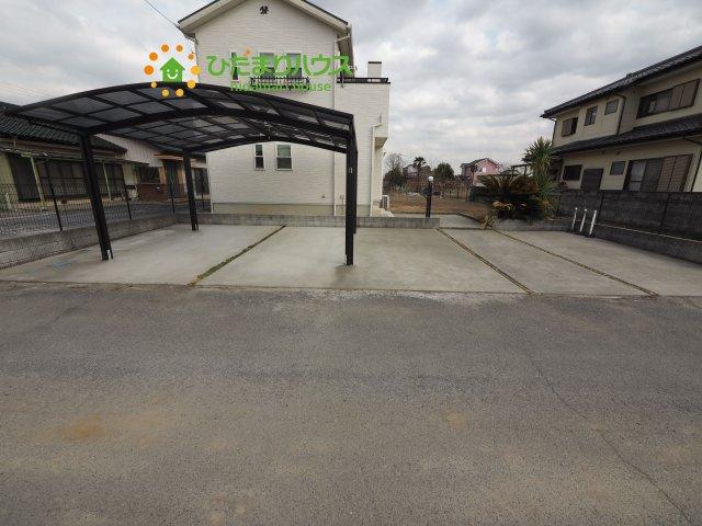 【駐車場】加須市柏戸 中古一戸建て