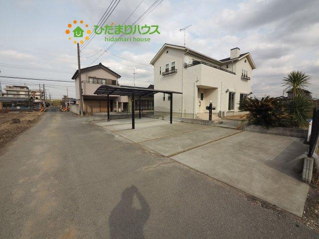 【前面道路含む現地写真】加須市柏戸 中古一戸建て
