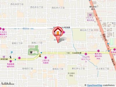 【地図】ファーストイン居相・