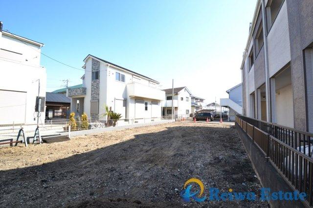 【外観】売地 茅ヶ崎市今宿