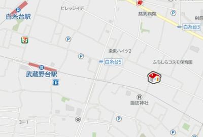 【地図】レオパレスけやき(41466-107)