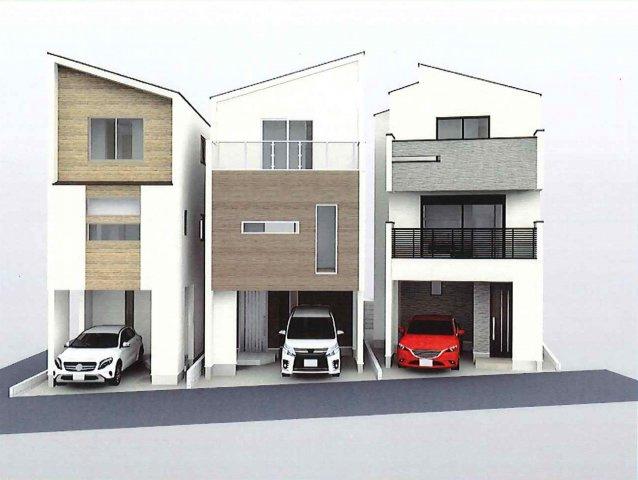 建物プラン例(B区画) 建物117.99㎡、2,780万円、総額8,980万円