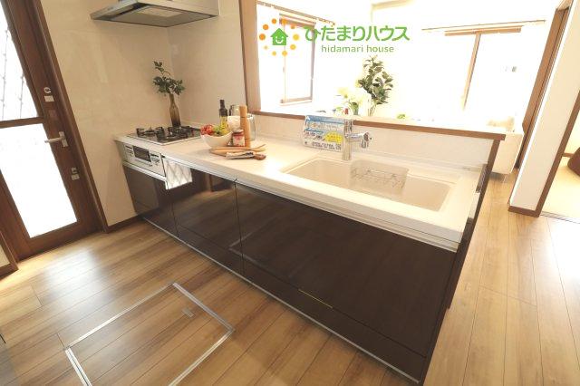 【キッチン】羽生市下新郷 中古一戸建て