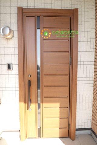 【玄関】羽生市下新郷 中古一戸建て