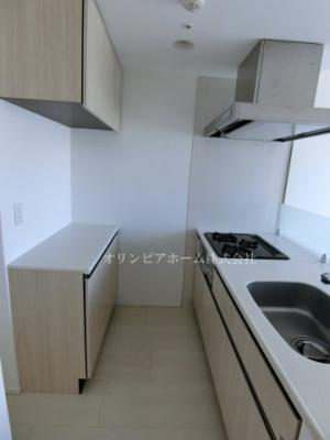 【キッチン】ハーモニーレジデンス錦糸町#001 11階 角部屋 2012築 空室