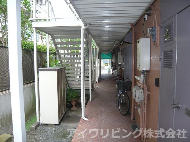 共用廊下【コーポみゆき】