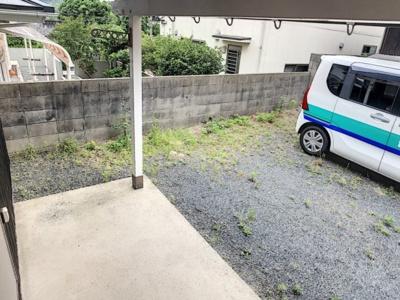 【庭】前勝谷町大田貸家D