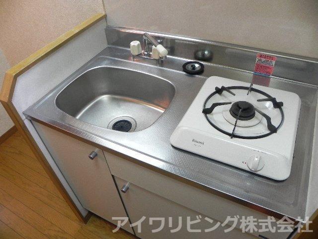 ガスコンロ1口付き【ソミュール百草Ⅰ】