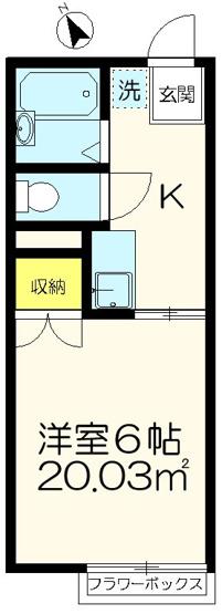 バストイレ別【リーバイスハイツⅠ】