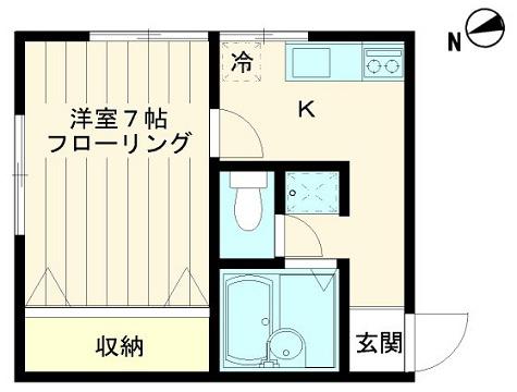バストイレ別【ウエストビレッジ】