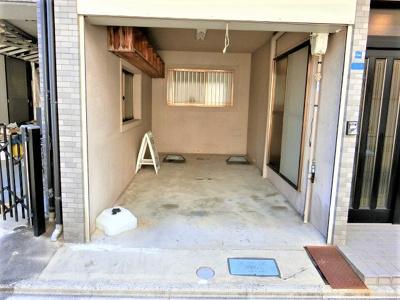 【現地写真】 屋根付き車庫♪