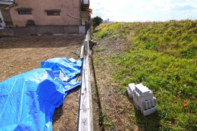 【外観】伏見区桃山町大島 注文建築 建築条件なし 土地
