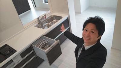 時短に嬉しい食洗機付き♪ 新築戸建の事はマックバリュで住まい相談へお任せください。