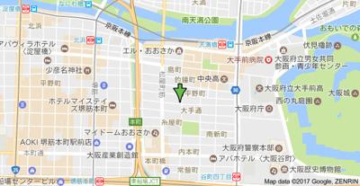 【地図】アール天満橋
