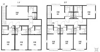 座間市相模が丘2丁目2棟一括売アパート