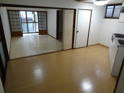 【キッチン】東山区今熊野南谷町