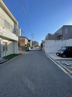 【前面道路含む現地写真】千葉市緑区あすみが丘 売地 外房線土気駅