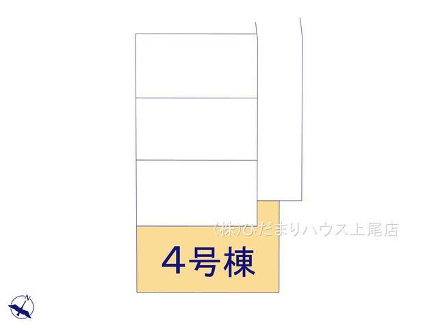 【区画図】上尾市原市 12期 新築一戸建て グラファーレ 04