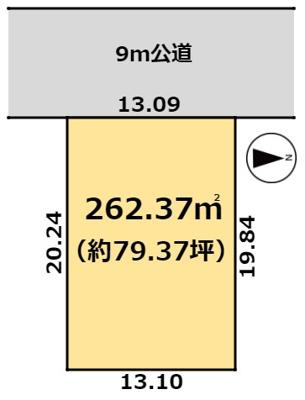 【区画図】つくば市島名F13街区