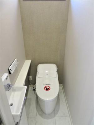 【トイレ】池田市畑3丁目 新築戸建