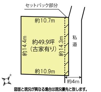 【土地図】鴻巣市本町3丁目の売地