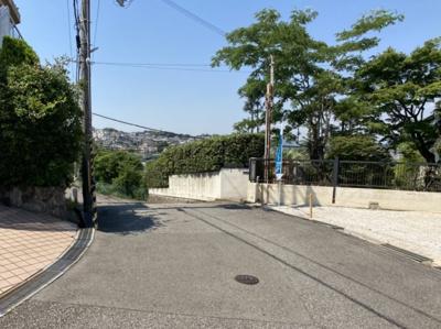 【前面道路含む現地写真】仁川百合野町Ⅰ 2号地