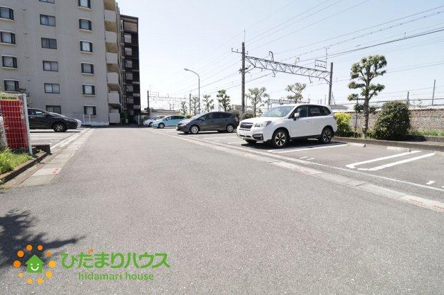 【駐車場】栗橋駅前ハイツ