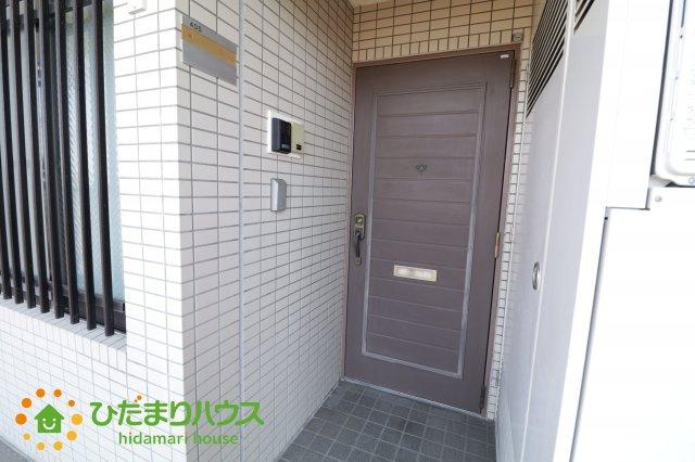 【玄関】栗橋駅前ハイツ