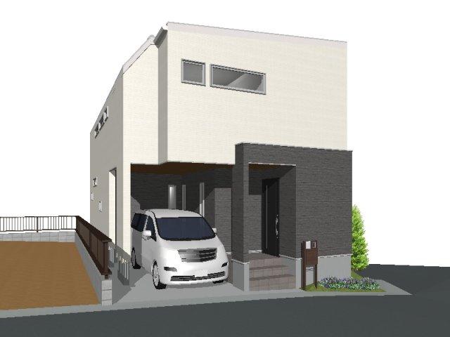 【区画図】松風町1号地 売土地