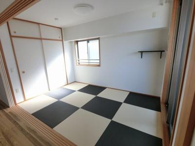 6.0帖琉球畳の和室です。