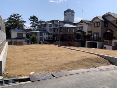 【前面道路含む現地写真】松風町2号地 売土地