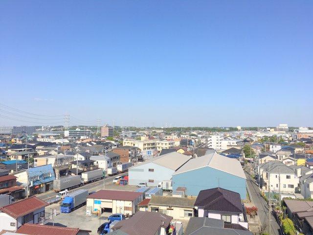【展望】海老名市門沢橋3丁目 メイツ海老名門沢橋リバーマークス 7階