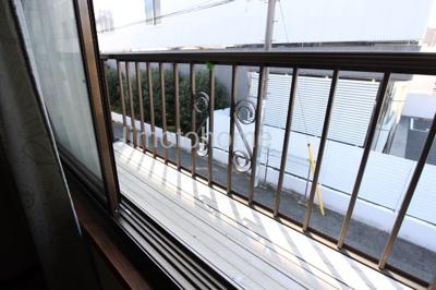 【バルコニー】港区福崎貸家