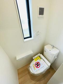【トイレ】沼津市下香貫第22 新築戸建 2号棟