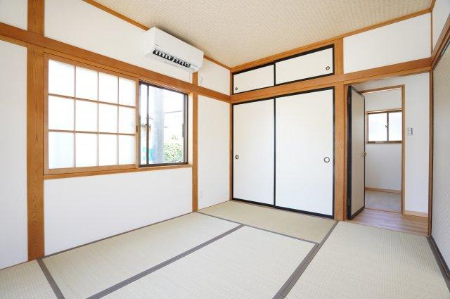6畳 お子さまやお孫さまが泊まる際の宿泊スペースとしても利用可能できますね。