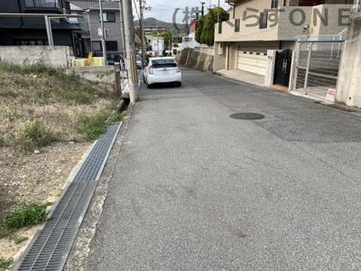 【前面道路含む現地写真】姫路市辻井8丁目/2区画