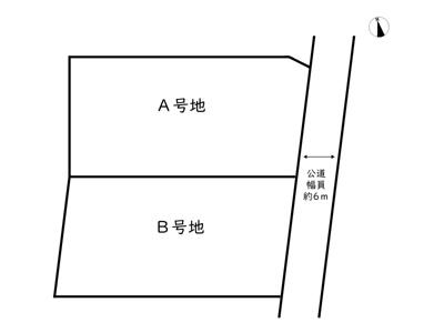 【区画図】姫路市辻井8丁目/2区画