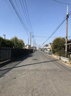 【前面道路含む現地写真】行田市埼玉の売地
