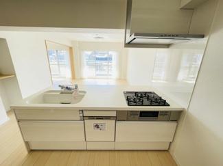 稲毛パークハウスD棟 使いやすいキッチンです