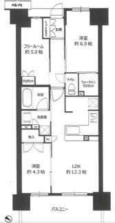 ジャストサイズの3部屋は単身者からファミリーまでわがままなニーズに対応可能です。