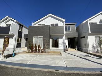 JR武蔵野線「市川大野」駅徒歩23分の全3棟の新築一戸建てです。