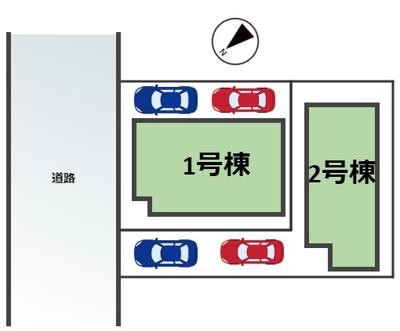 西宮市浜甲子園新築戸建 2区画 2号地