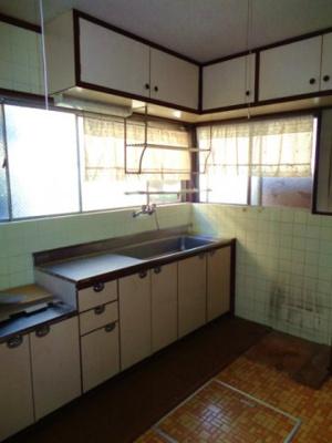 【キッチン】矢田4丁目戸建て