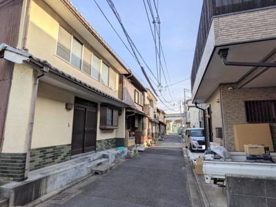 【前面道路含む現地写真】京都市伏見区深草加賀屋敷町