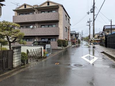 【前面道路含む現地写真】京都市伏見区醍醐烏橋町