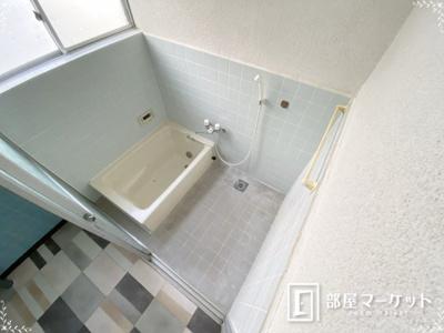 【浴室】平山町貸家
