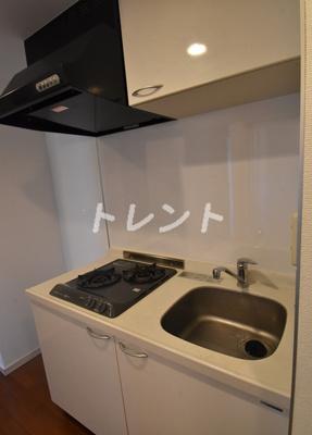 【キッチン】エルフラット田町【L-Flat田町】